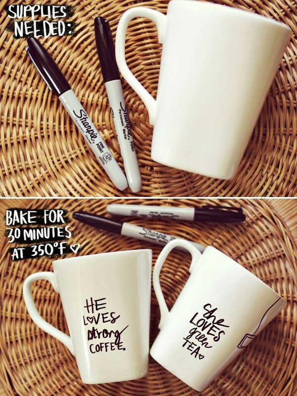 add a personal touch to your gift by making this personalized mug for your lovely brother